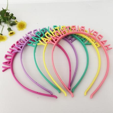 Girl Birthday party headdress hair clip band (D-31)