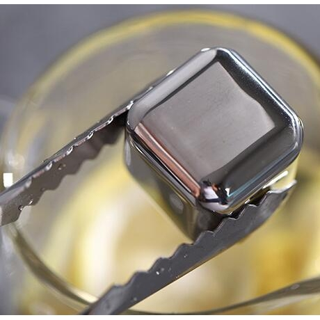 Reusable 304 stainless steel ice cube