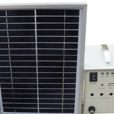 portable solar power generation system