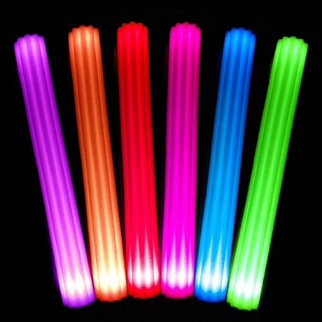 Concerts Cheering Special shape LED Sponge Luminous Rod (No.: FSP-01A)