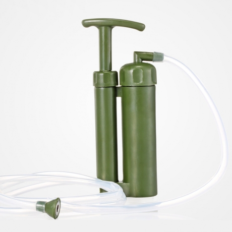 Single person operating outdoor water source portable water purifier (WT-P1001)