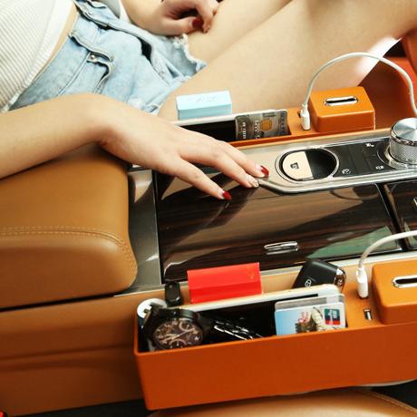 Car multifunctional storage box car change box