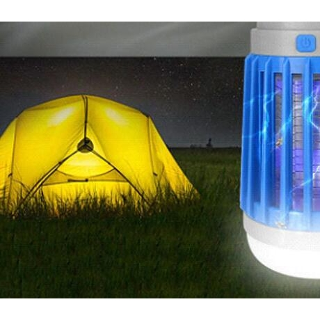 Solar energy lighting and mosquito killing lamp