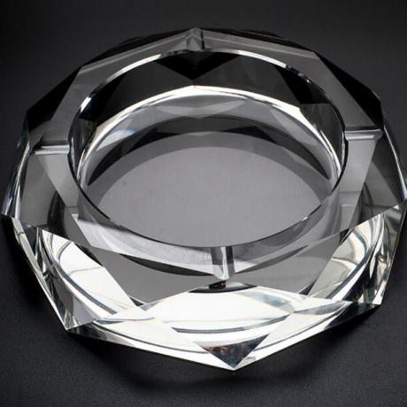 promotional decorative crystal ashtray