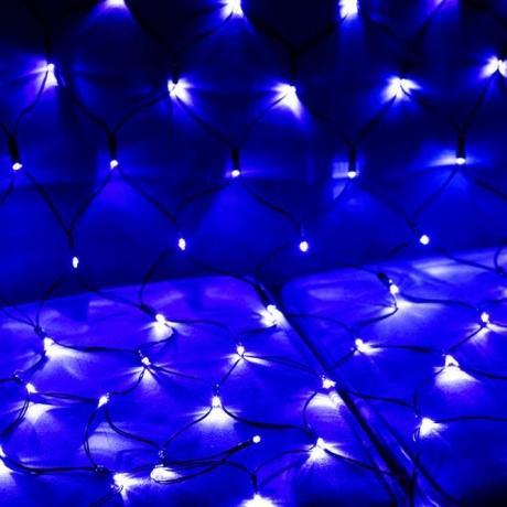 solar fishing net lamp