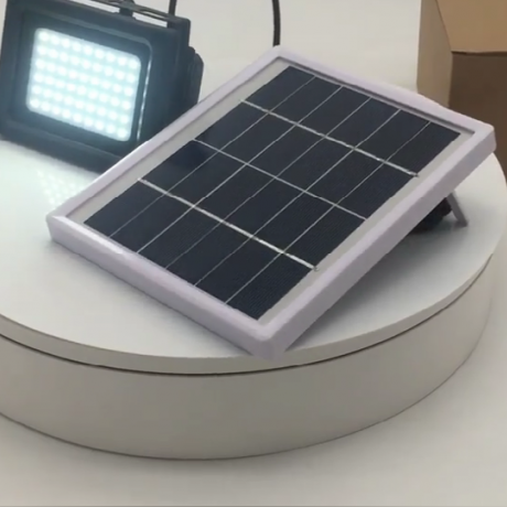 4000mAh 54leds solar courtyard floodlight