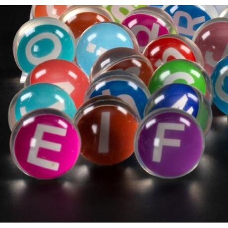 29mm diameter letter elastic ball