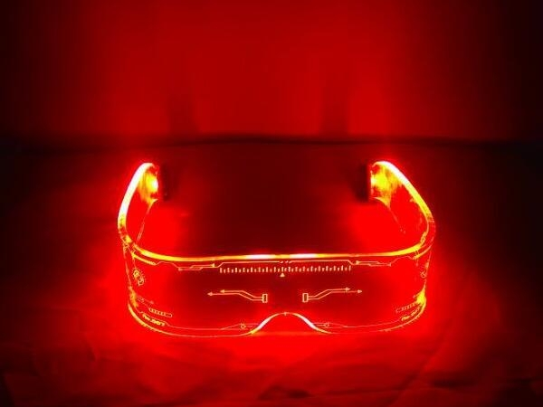 new led luminous glasses for family dance