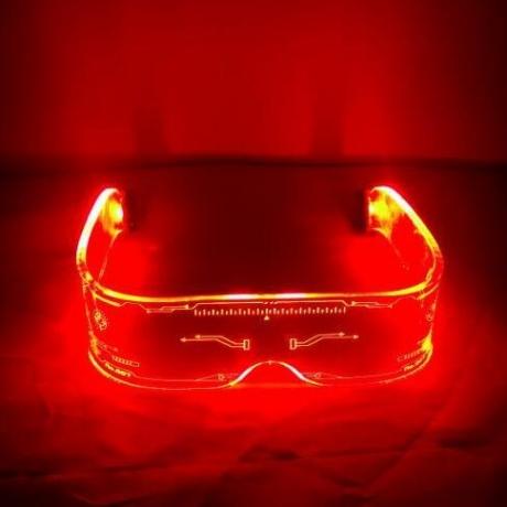 new led luminous glasses for family dance
