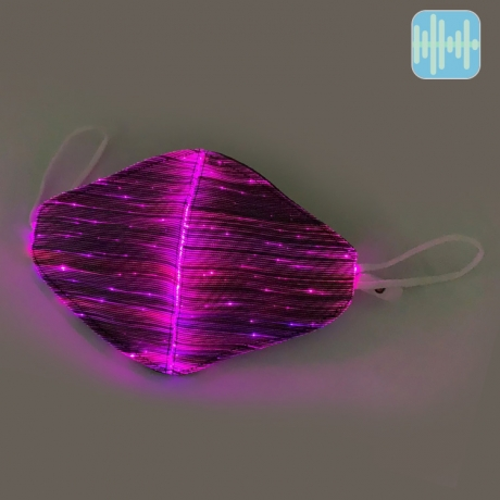 Sound active flashing music party mask (No.M-63AL)
