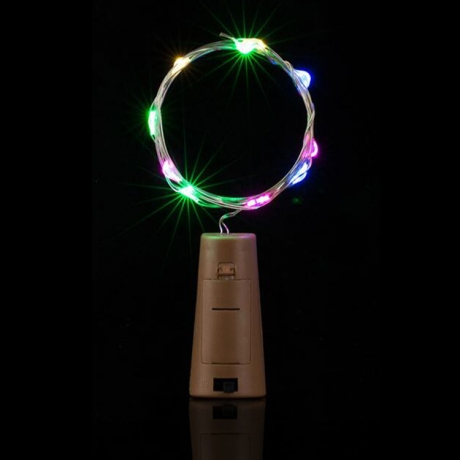 LED warm white bottle cork light strings (No.ML-032)
