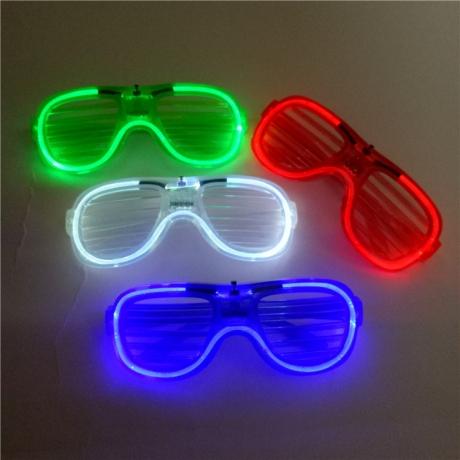 Night favor LED Neon Shutter Glasses (LFG-400)