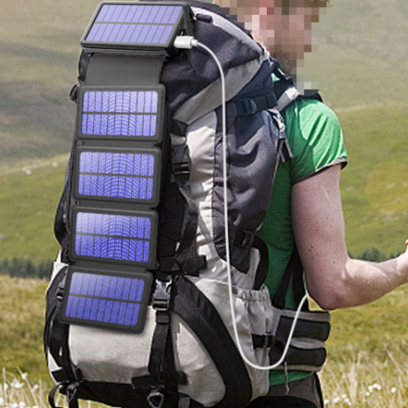 foldable solar panel detachable solar charger (Item No.gmtfs005)