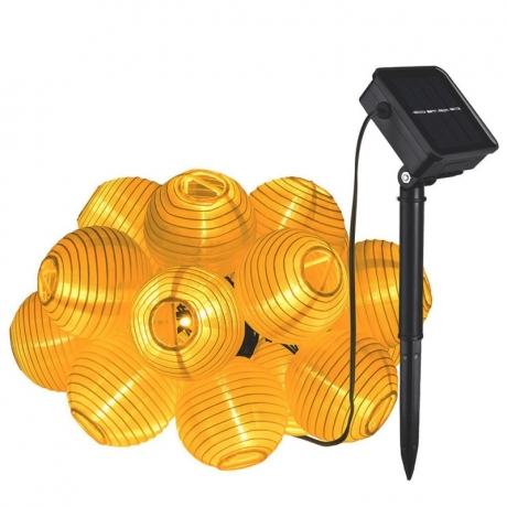 Solar energy outdoor lantern string light (No.ML-034S)