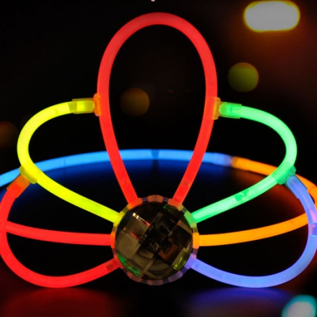 DIY adjustable adult and child fluorescent crown