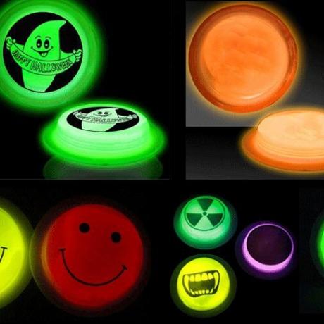 Customized logo print glow in dark badge