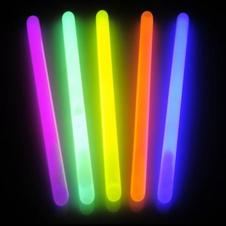 Bright in night 20*400mm glow in dark stick