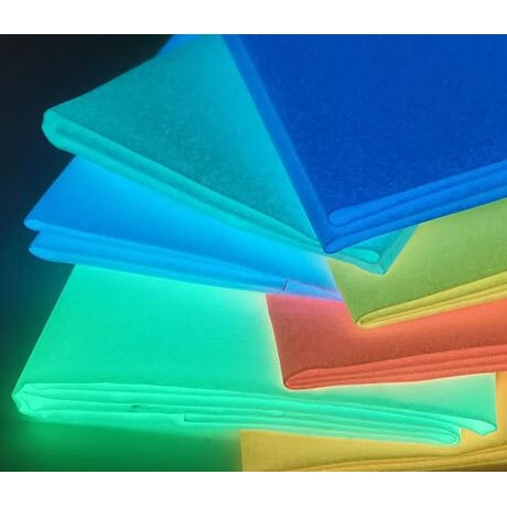 Noctilucent cloth glow in dark &luminous cloth