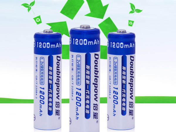 High capacity AA rechargeable battery