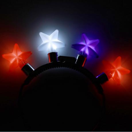 LED luminous flash hair band