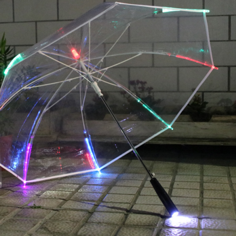 LED light umbrella for advertisement