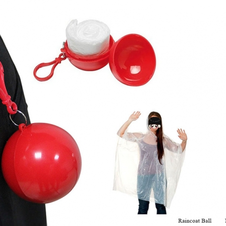 Outdoor Favor Disposable Raincoat Ball