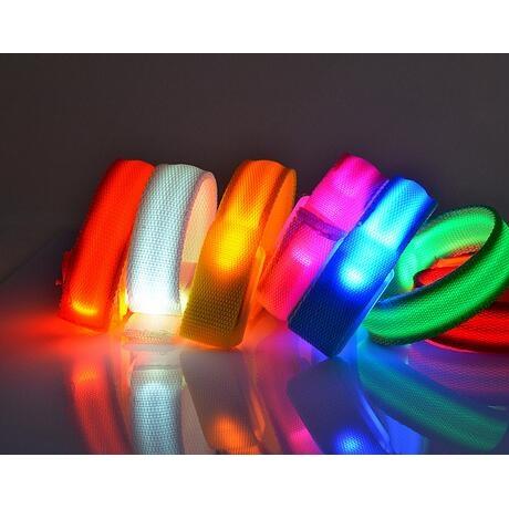 High Visibility Flashing perfect safety light led armband