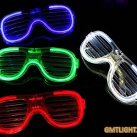 Neon Shutter Glasses Cold Light with packing of 576pcs per box