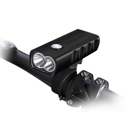 T6 double LED waterproof bicycle front lamp (50pcs/box)