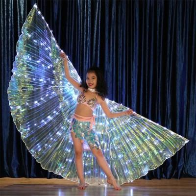 Small size 172 LED kids performance flashing wing (6 sets/box)