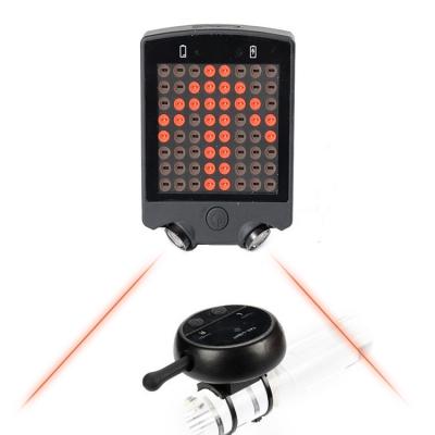 64 LED laser beam wireless control turn signal lamp ( 50pcs/ctn )