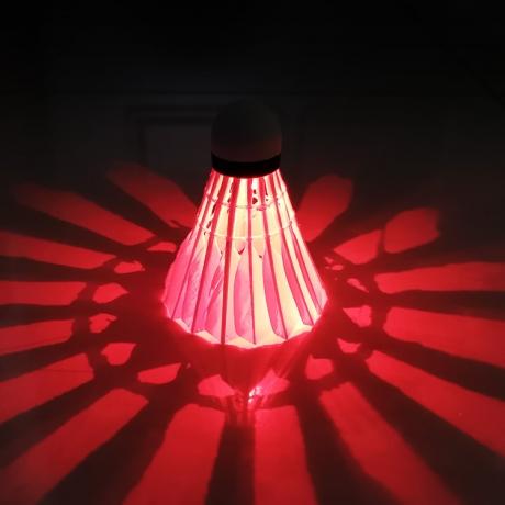 Multi-color light up LED badminton (No.BCB-011)