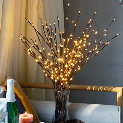 LED decorative lamp light for vase with simulation branch(600pcs/lot)