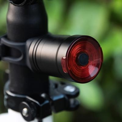 Brake inductive auto flashing bicycle rear lamp (50pcs/lot)