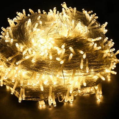 10m long LED Christmas light string (100pcs=USD99)