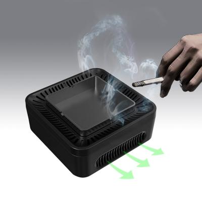 Multi-functional anion purifier smoking ashtray (4pcs/lot)