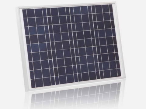What is a monocrystalline silicon solar panel?