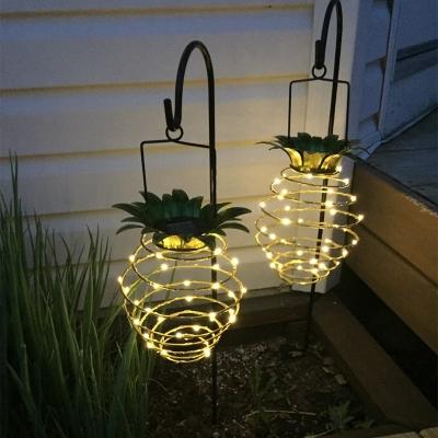 Garden decoration Solar energy Pineapple Solar Path (60pcs/ctn/lot)
