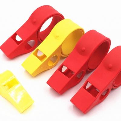Party favor Silicone whistle bracelet (500pcs/ctn/lot)