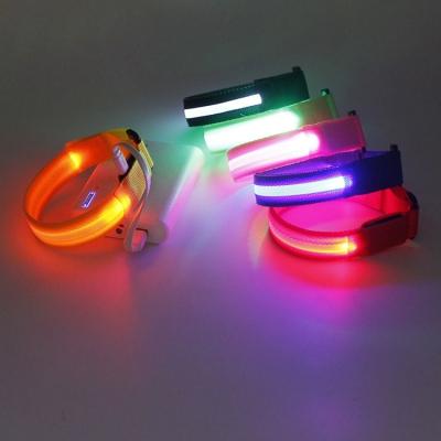 Reflective LED slap bracelet for night running (400pcs/ctn/lot)