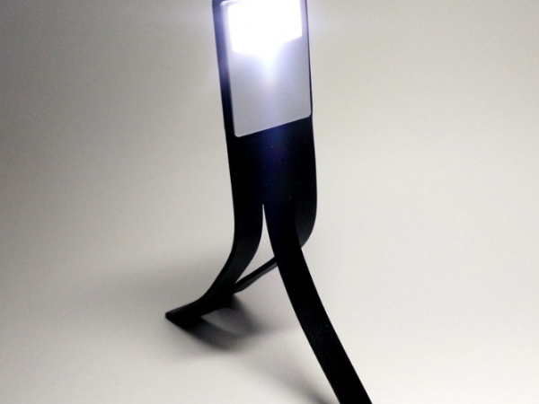 USB rechargeable deformable led reading lamp