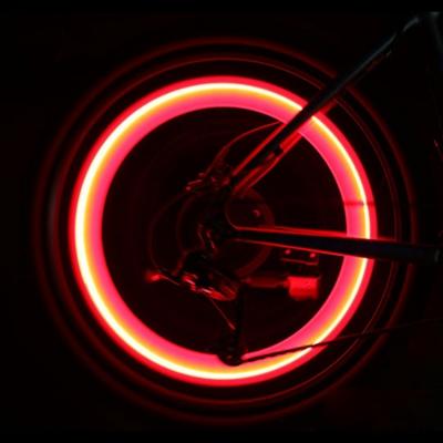 LED neon light effect bike wheel riding light (100pairs/ctn)
