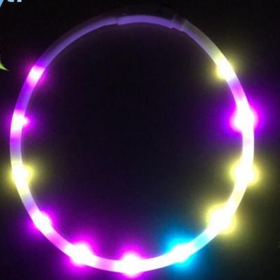 led flash silicone collar (480pcs per ctn)