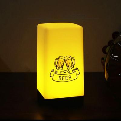 Luminous light in dark rechargeable desk lamp ( 50pcs/ctn )