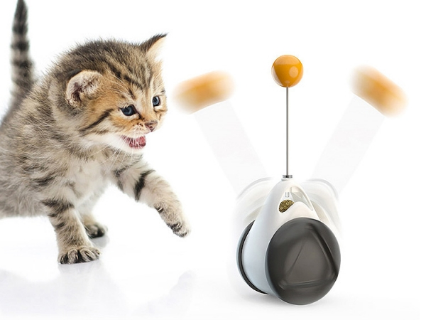 Automatic balance cat stick toy (No.DB-C01)