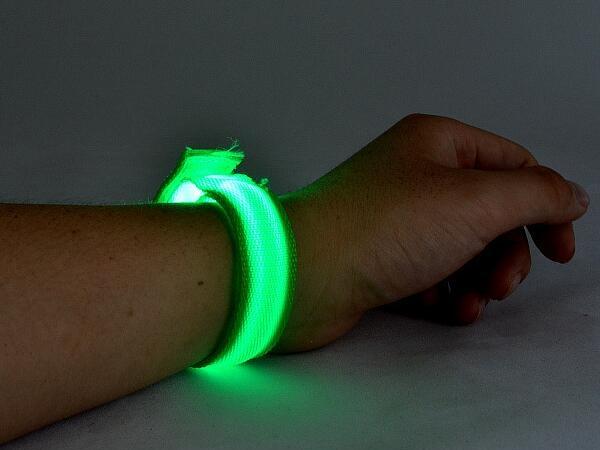 LED flashing bracelet for night tour group