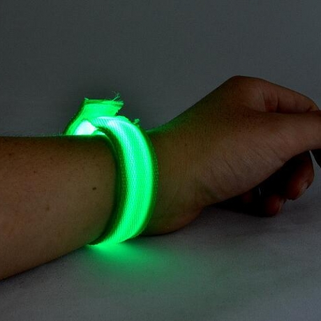 LED flashing bracelet for night tour group