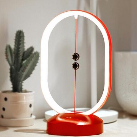 New creative physics magnetic switch balance lamp