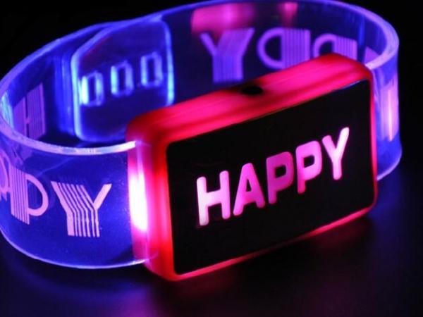 LED flash bracelet luminous Bracelet luminous wrist band luminous Bracelet