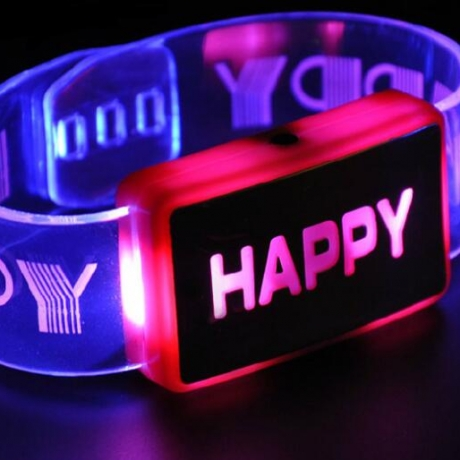 LED flash bracelet luminous Bracelet luminous wrist band luminous Bracelet